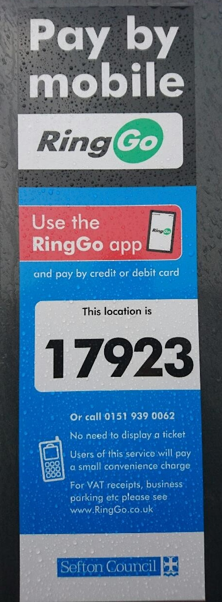 Sefton Council - Car Parking Pay By Phone